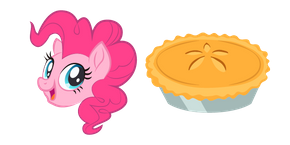 My Little Pony Pinkie Pie and Pie Cursor