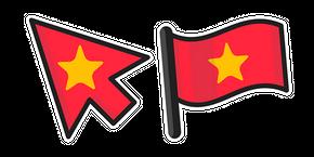 Курсор Vietnam Flag
