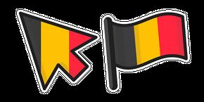 Belgium Flag Curseur