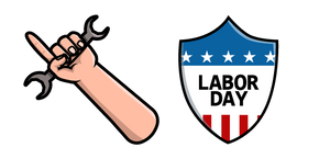 Labor Day Cursor