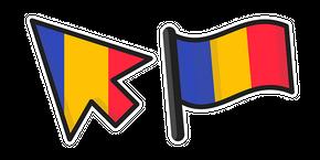 Курсор Romania Flag