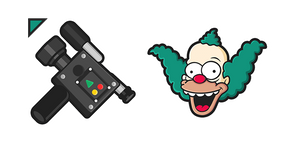 The Simpsons Krusty the Clown Video Camera Curseur