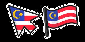 Курсор Malaysia Flag