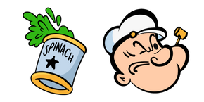Popeye Sailor Man Cursor