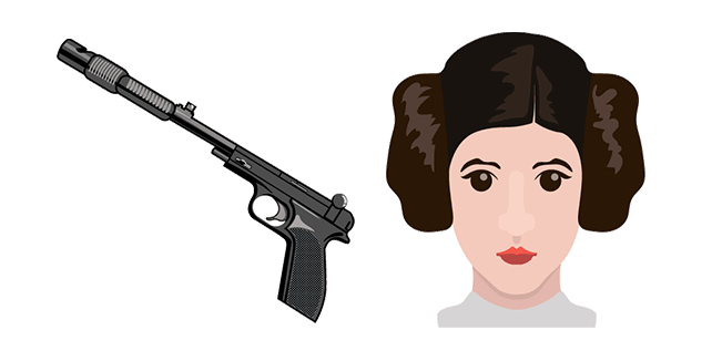 Star Wars Princess Leia Blaster