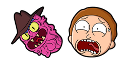 Rick and Morty Scary Terry and Morty Cursor