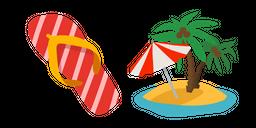 Summer Vacation Curseur