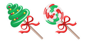 Christmas Candies Cursor
