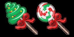 Christmas Candies Curseur