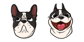 Cute French Bulldog Dog Cursor