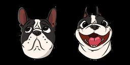 Cute French Bulldog Dog Cursor