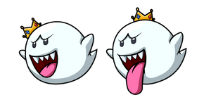 Super Mario King Boo Curseur