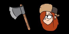 Gravity Falls Wendy Curseur