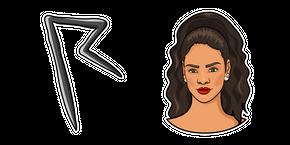 Rihanna Curseur