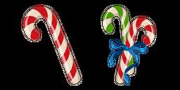 Candy Cane Cursor