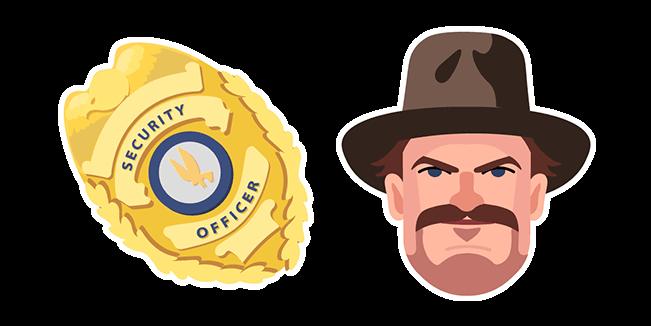 Stranger Things Chief Hopper Badge