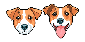 Cute Jack Russell Terrier Dog Cursor