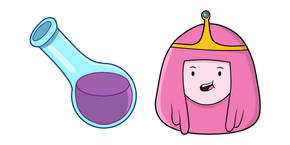 Adventure Time Princess Bubblegum Cursor