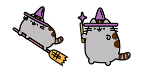 Witch Pusheen Cursor