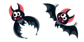 Halloween Funny Bat Curseur