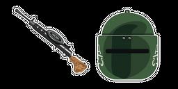 Rainbow Six Siege Tachanka RP-46 Gun Cursor