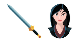 Mulan Sword of the Ancestor Curseur