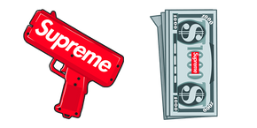 Supreme Money Gun Cursor