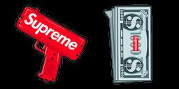 Supreme Money Gun Cursor