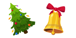 Christmas Tree and Bell Curseur