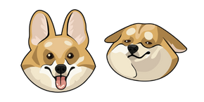 Курсор Cute Shiba Inu Dog