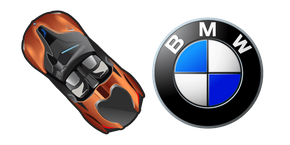 BMW i8 Roadster Cursor