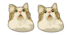 Scared Cat Meme Cursor