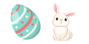 Easter Egg and Bunny Cursor