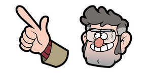 Gravity Falls Ford Pines Cursor