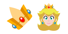 Super Mario Princess Peach Curseur