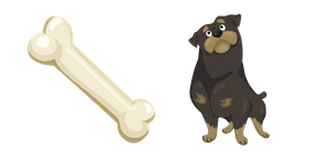 Dog and Bone Cursor