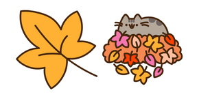 Autumn Pusheen Cursor