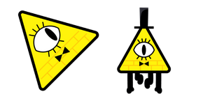 Gravity Falls Bill Cipher Curseur