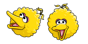 Курсор Sesame Street Big Bird