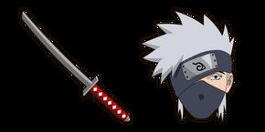 Naruto Kakashi Hatake Katana Cursor