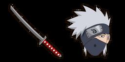 Naruto Kakashi Hatake Katana Curseur
