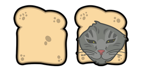 Cat Breading Curseur
